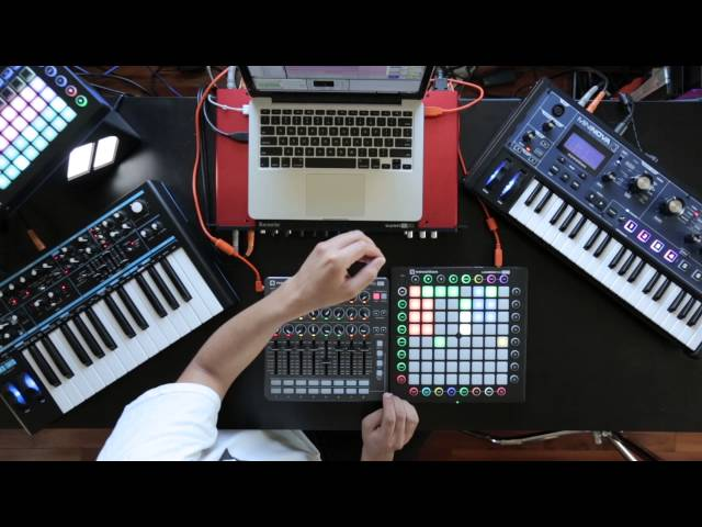 Novation // Finish Something Part 6: Perform your arrangement with Launch Control & Launchpad Pro