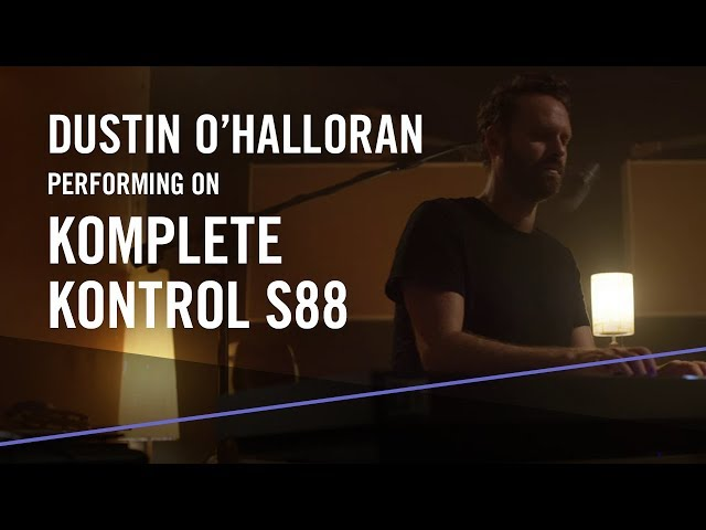 "Dustin O'Halloran performs ""An Ending, A Beginning"" on KOMPLETE KONTROL S88 