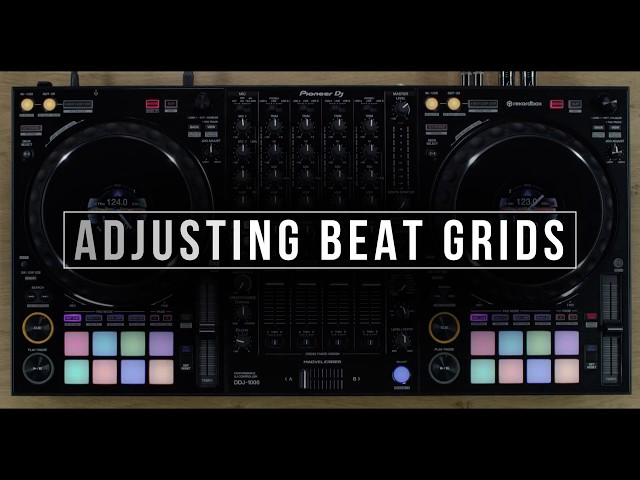 DDJ-1000 Tutorial - Adjusting Beat Grids