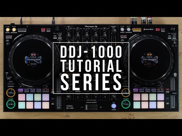 DDJ-1000 Tutorial - Colour On Jog Display
