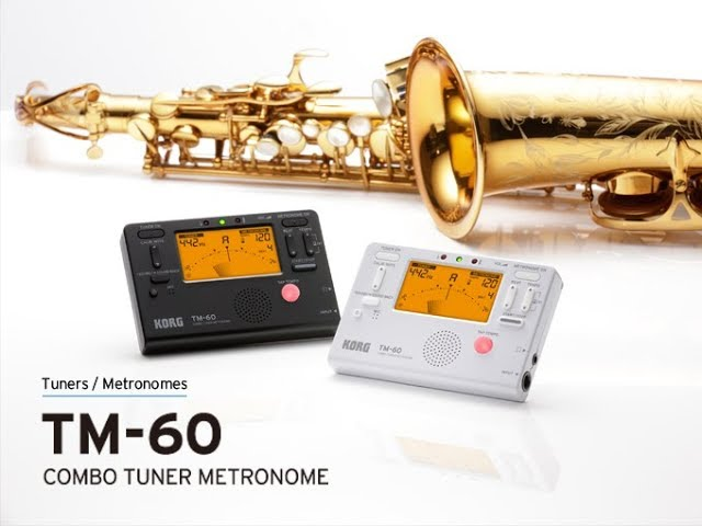 KORG TM-60 — Advanced Combo Tuner and Metronome; a must-have item for practicing