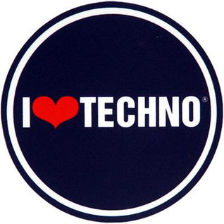 Slipmat-Factory I Love Techno Slipmats (Пара) по цене 1 280 руб.