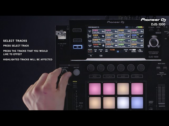 DJS-1000 Tutorial - FX