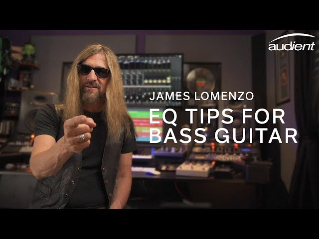 EQ Tips for Bass Guitar - James LoMenzo's Guide To Recording Bass - Part 2