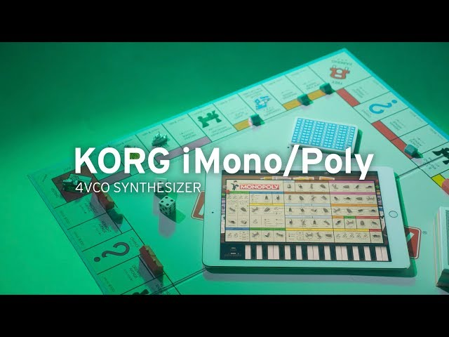 Monopoly coming to KORG iMono/Poly for iOS