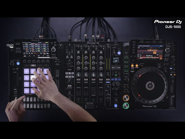 DJS-1000 Tutorial - Live Sampling