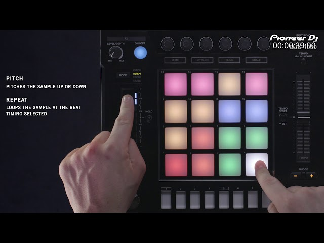 DJS-1000 Tutorial - Touch Strip