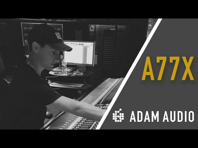 ADAM Audio | In the Studio with Alex Spencer | A77X & Sub15