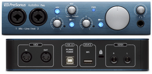 PreSonus AudioBox iTwo Studio по цене 22 150 руб.