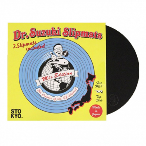 Dr Suzuki Tablecloth Mix Edition Black Slipmats (Пара) по цене 2 690 руб.