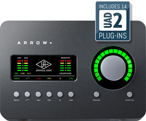 Universal Audio Arrow по цене 33 000 руб.